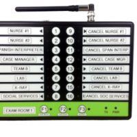 16 Button Staff Call Paging System 7900