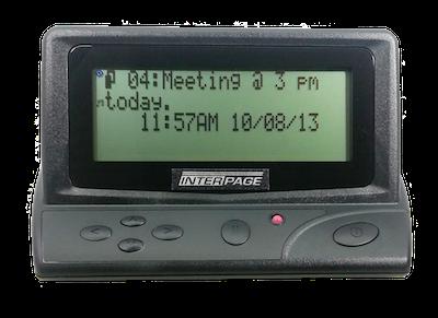 Big Z-200 Desktop/Vehicle Pager