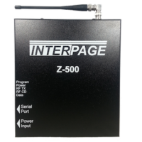 Z-500 Single Port Paging Transmitter
