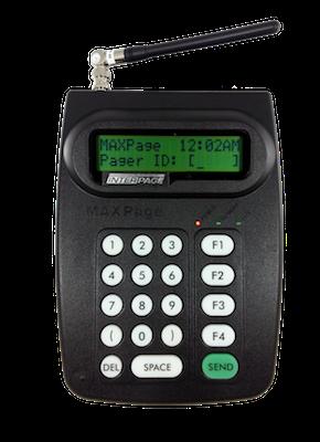 Maxpage Alphanumeric Transmitter