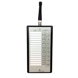 16 Button Staff Call Paging System 8920 - Front