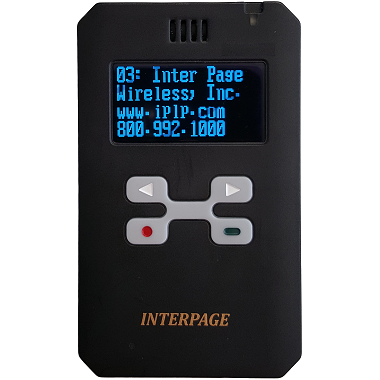 Diamond IP67 rated Rechargeable Alphanumeric Pager