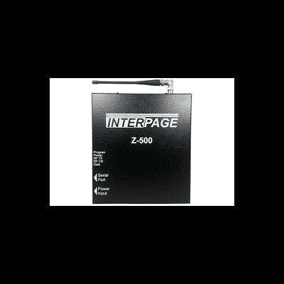Z-500 Single Port Paging Transmitter